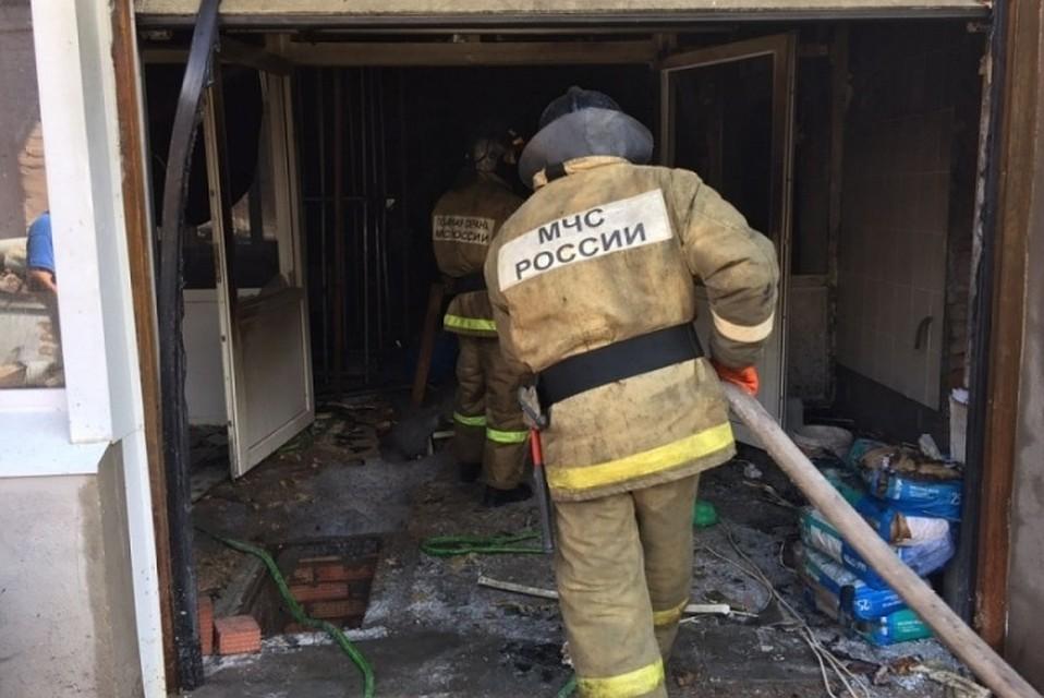 Впожаре накомбинате вБашкирии пострадали четверо рабочих