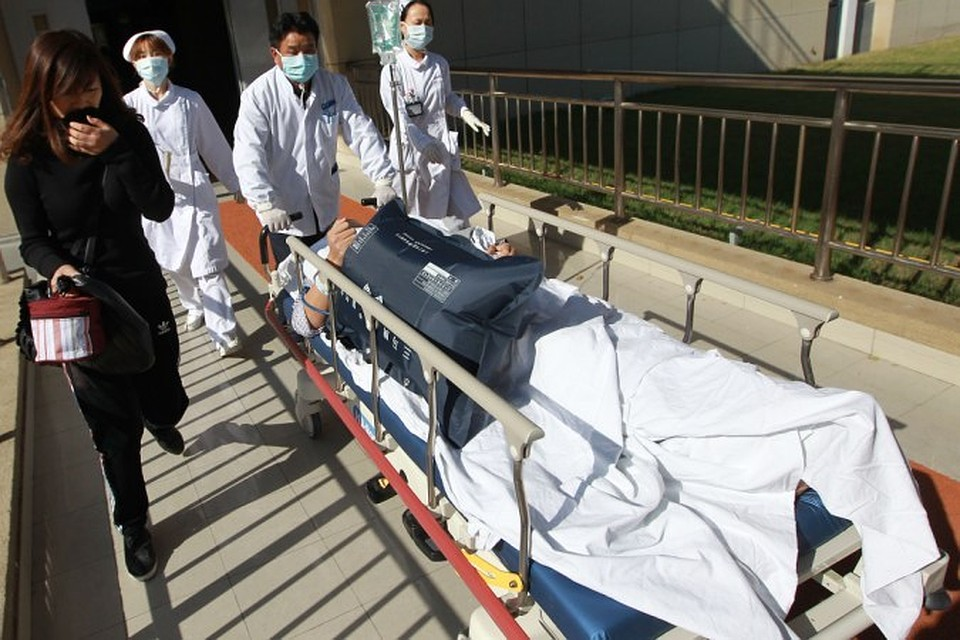 ВКитайской народной республике  неменее  30 человек погибли в итоге  крупного ДТП