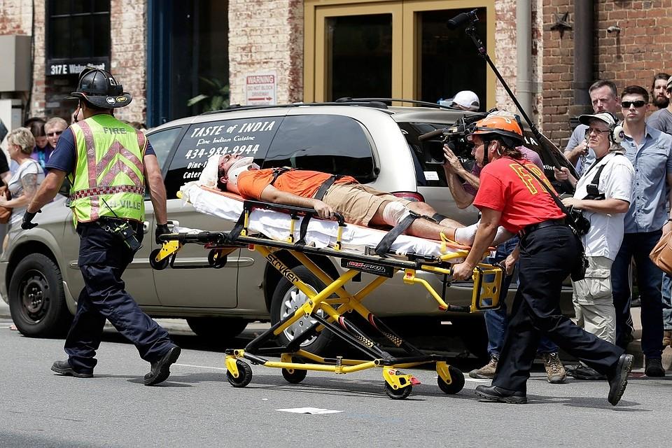 В итоге  беспорядков вВиргинии умер  один человек