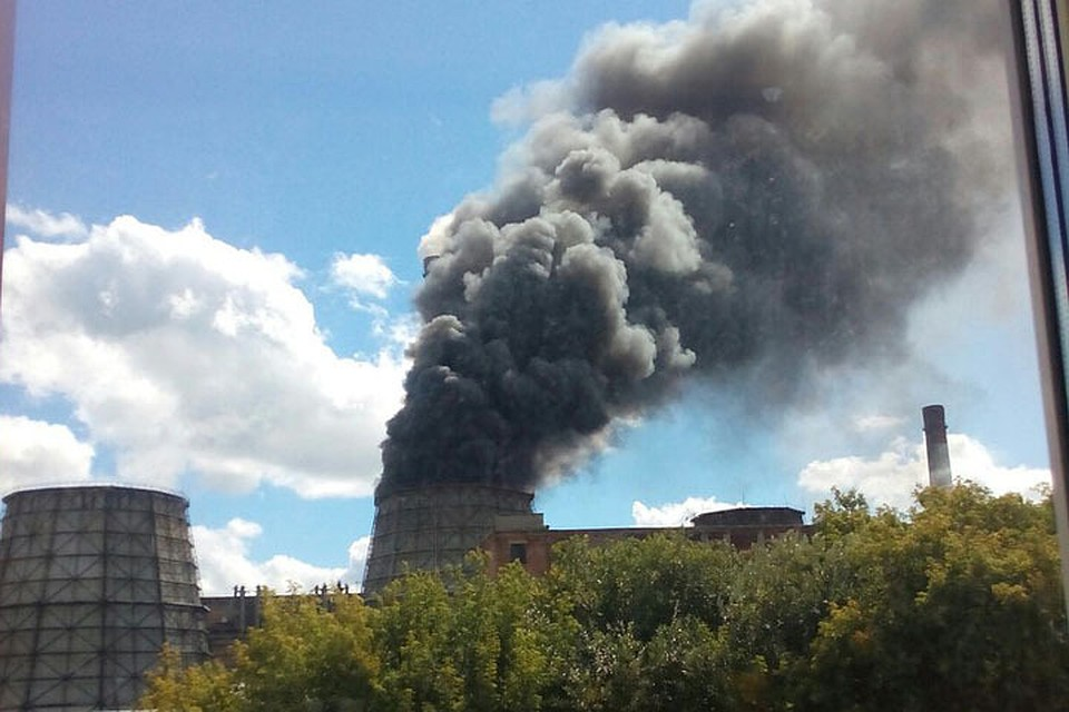 Набарнаульской ТЭЦ-2 произошел пожар