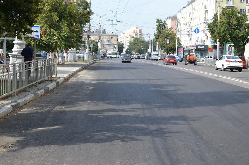 Наулице Кирова вВоронеже завершили капремонт теплотрассы