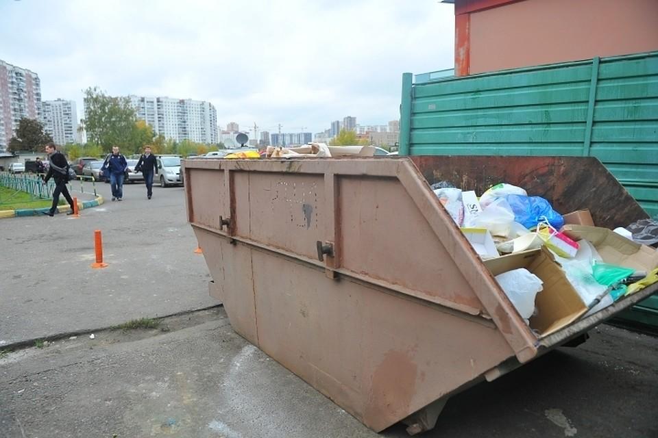 Дамские ноги отыскали вмусорном контейнере впрестижном районе Рима