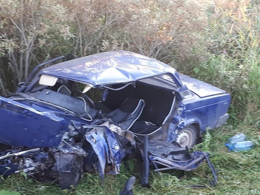 ВДТП вБашкирии умер  один человек, семья сребёнком доставлена вбольницу