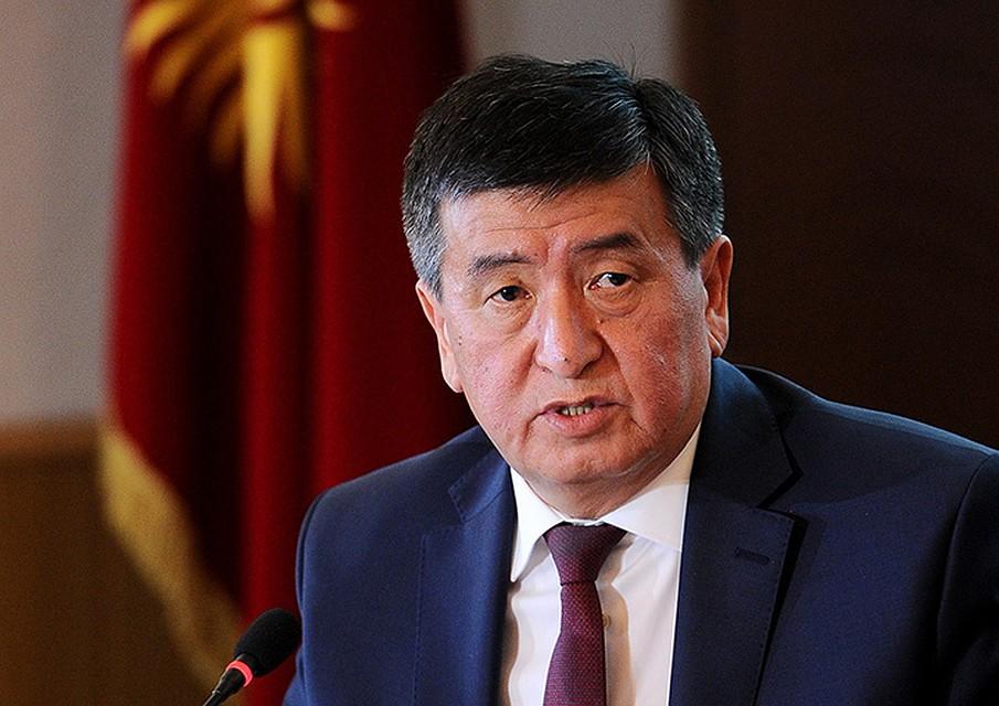 С.Жээнбеков сказал осложении ссебя полномочий премьера