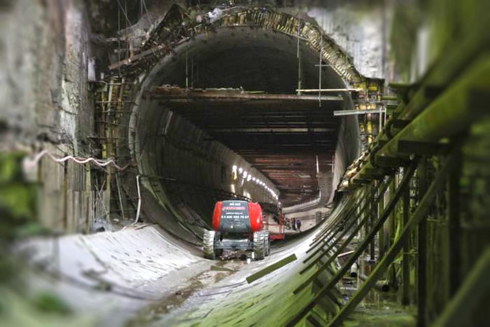 Метростроители завершают тоннель между «Приморской» и«Новокрестовской»