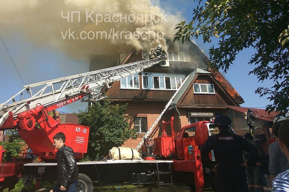 Врезультате сильного возгорания вдоме престарелых вКрасноярске умер один человек