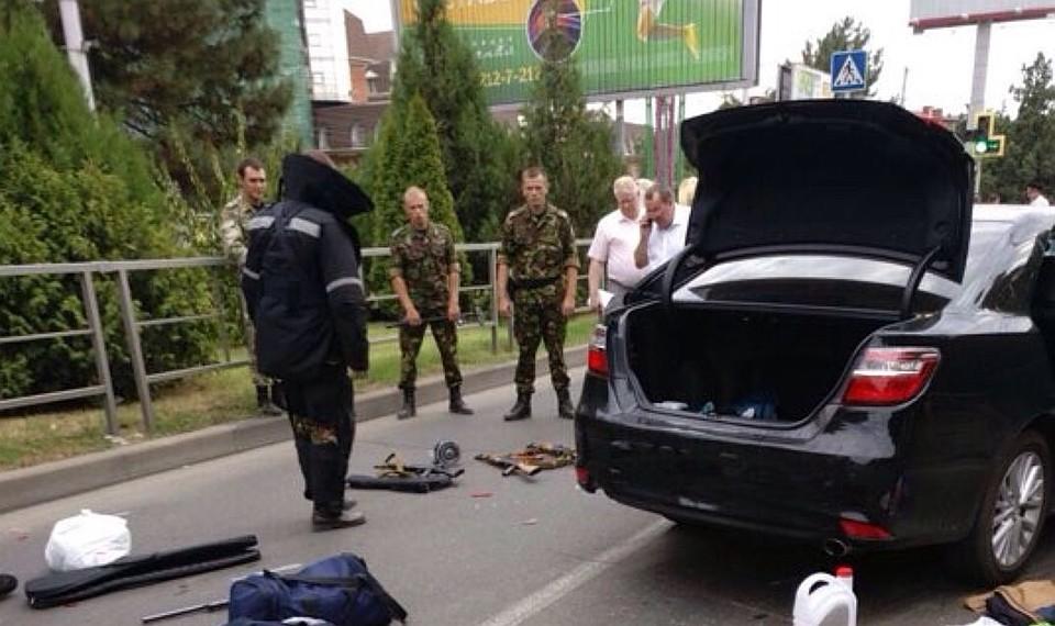 Милиция разыскивает соучастников стрельбы пополицейским вКраснодаре