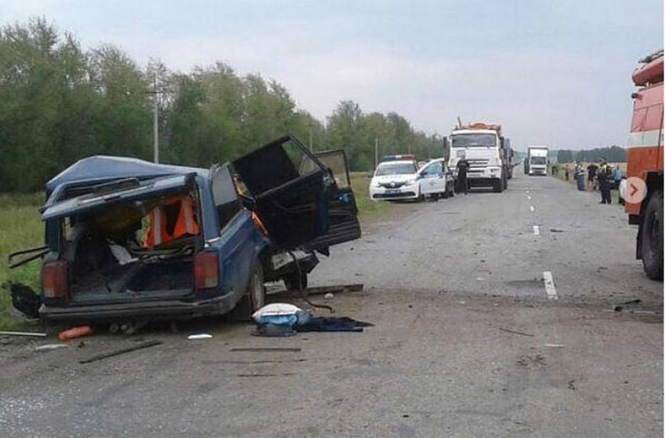 Шофёр фургона изПрикамья попал всмертельное ДТП натрассе вБашкирии