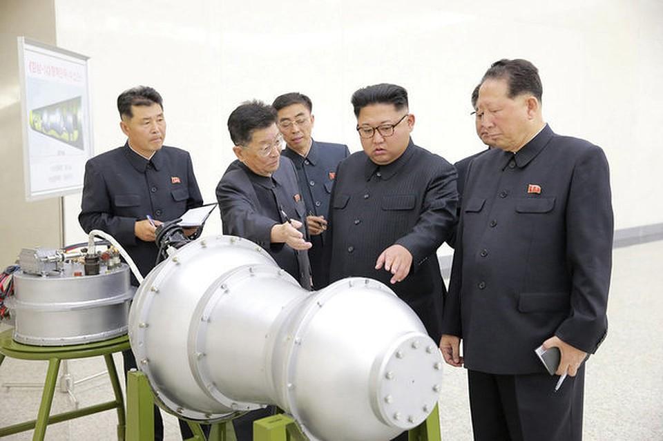 Навооружении уСеверной Кореи возникла  водородная бомба
