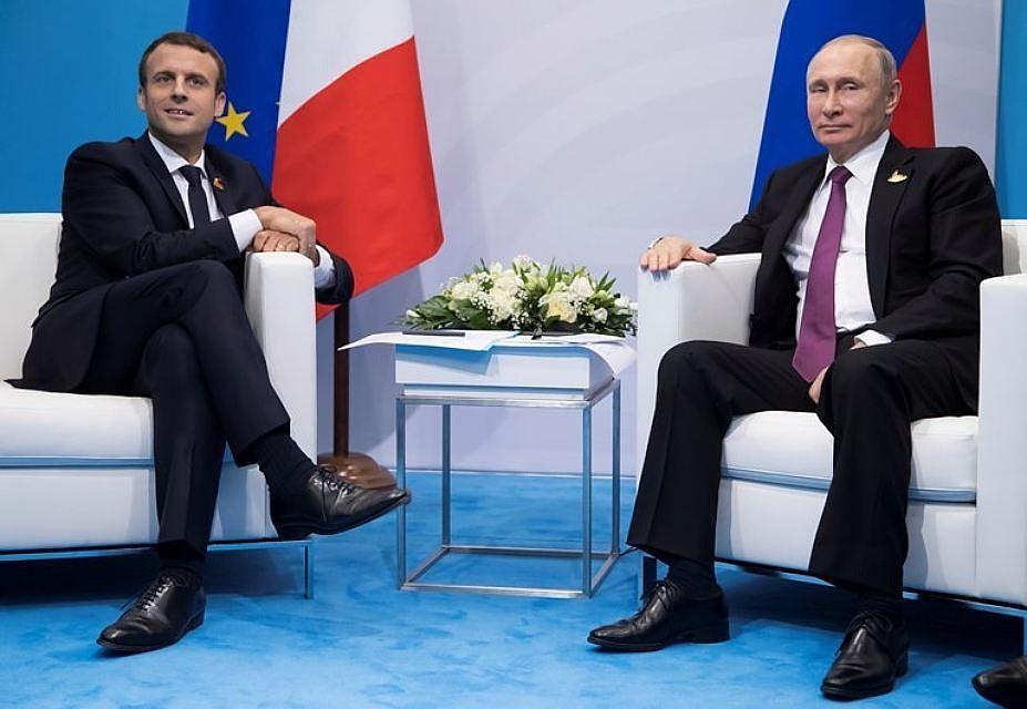 Путин призвал Макрона поддержать заведение миссии ООН вДонбассе