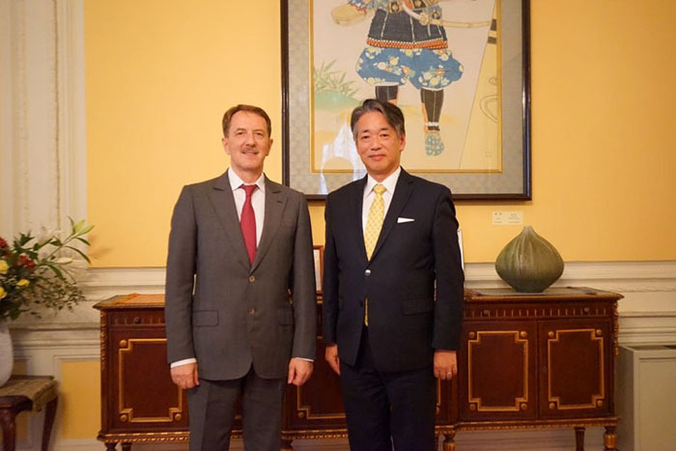 Губернатор Гордеев обсудил спослом Японии перспективы возведения метро вВоронеже
