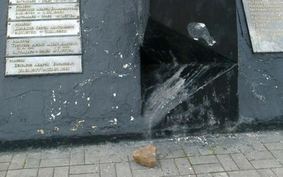 ВПрикамье вандалы разбили монумент воинам-интернационалистам