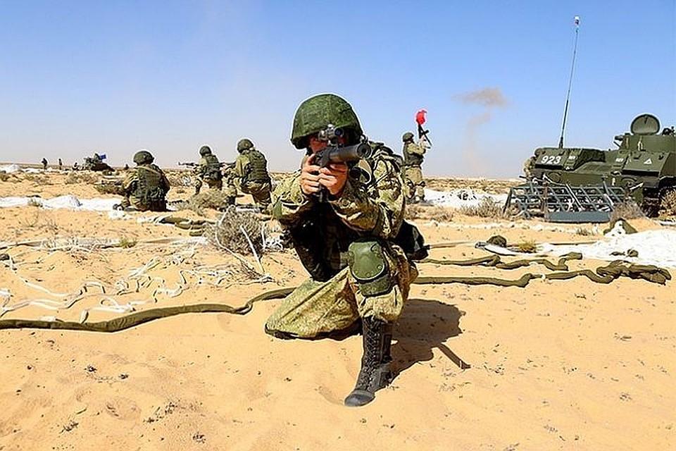 В РФ впервый раз пройдут общие учения русских иегипетских десантников