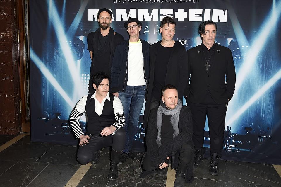 Группа Rammstein опровергла сообщение озавершении деятельности