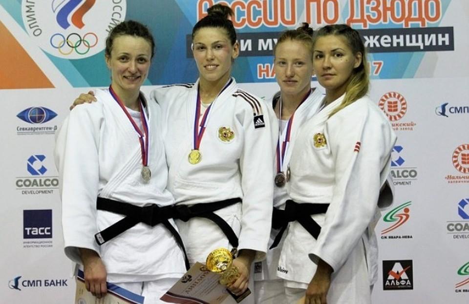 Орловчанка Антонина Шмелева стала чемпионкой Российской Федерации подзюдо