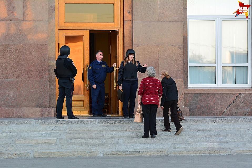 ВОрле эвакуировали служащих обладминистрации