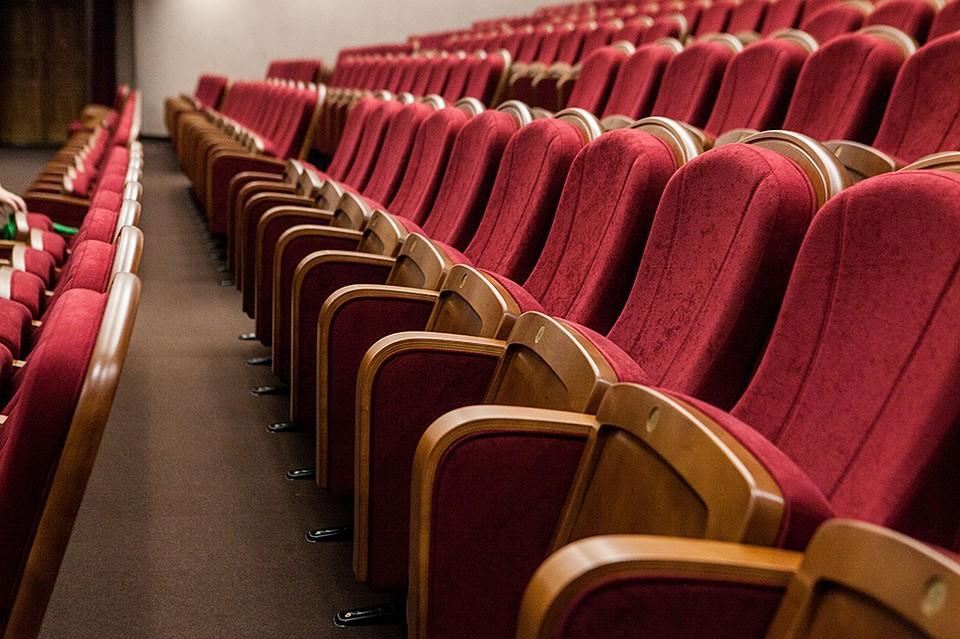 ВКрасноярском музыкальном театре отремонтировали зрительный зал