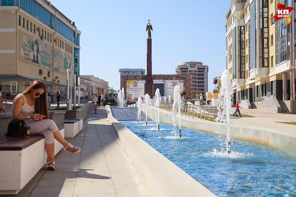 Александровская площадь Ставрополя готовится коДню города 23сентября