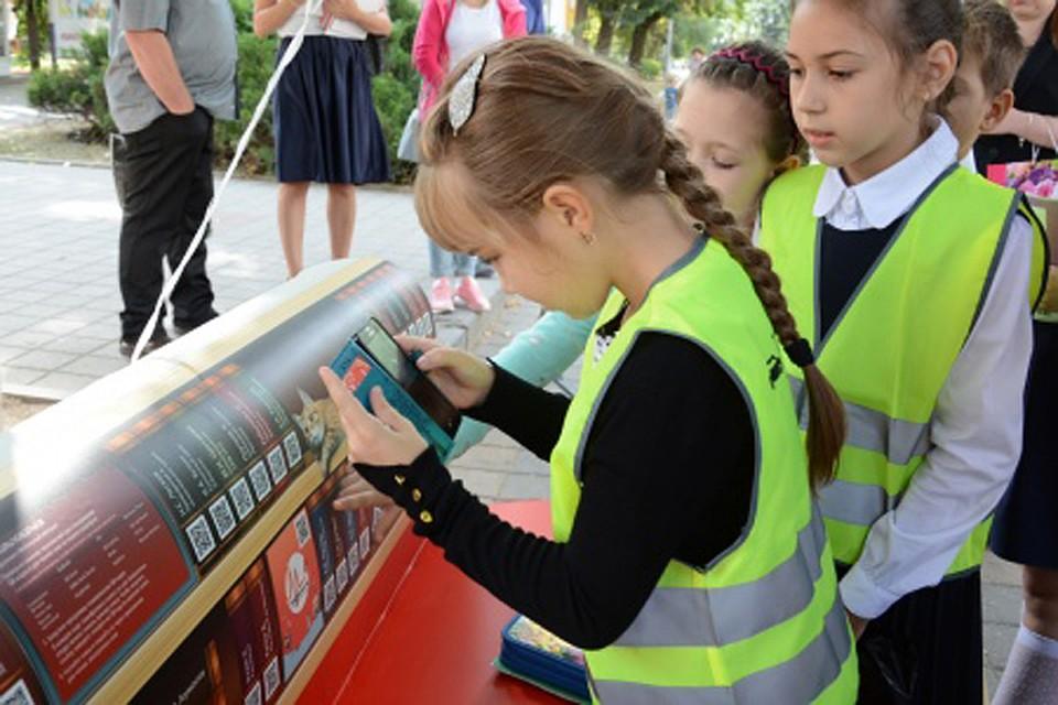 Литературные скамейки установили вСтаврополе коДню города