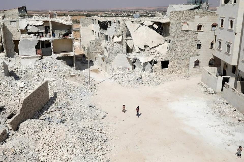 РФотправила вСирию около 4 тыс. тонн строительных материалов