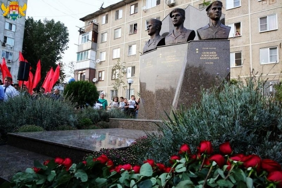 ВМахачкале открыт монумент героям РФ изЯрославля