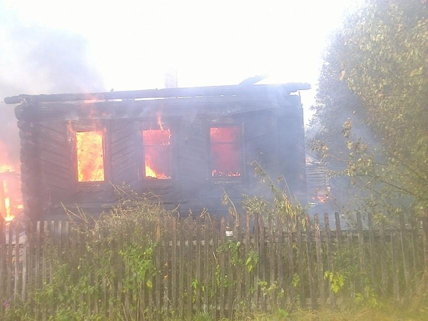 ВУдмуртии наместе пожара погибли двое, наступив нанеобесточенный электропровод