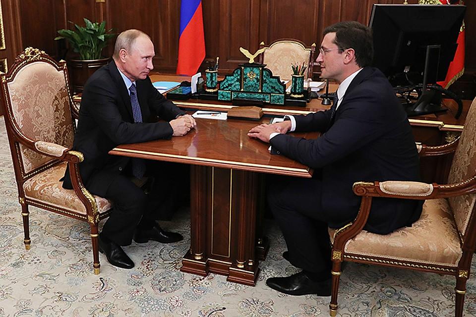 Путин сменил руководителя Нижегородской области Валерия Шанцева