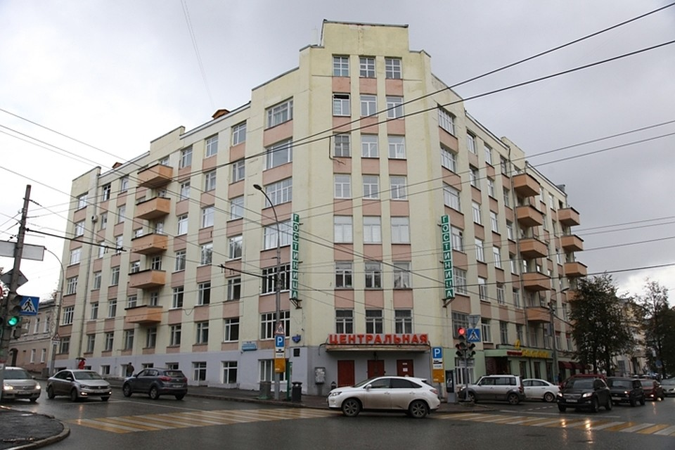Гостиница «Центральная» вПерми вполне может стать общежитием для иностранных студентов