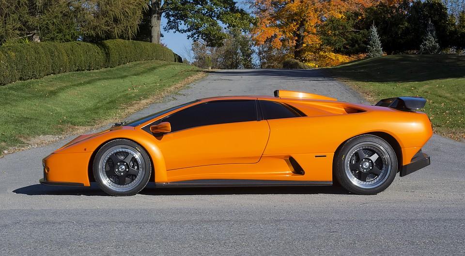 ВЭрарте открылась выставка Lamborghini