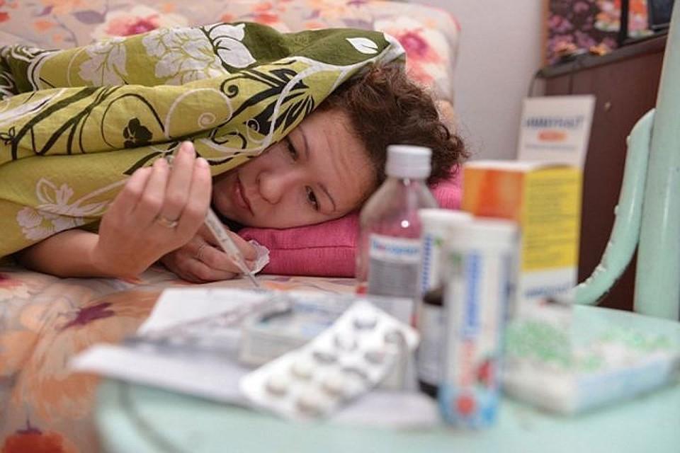 ВОмской области ОРВИ заболели уже неменее 10 тыс. человек