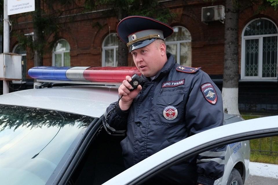 Инспектор ДПС задержал опасного правонарушителя вНовосибирске