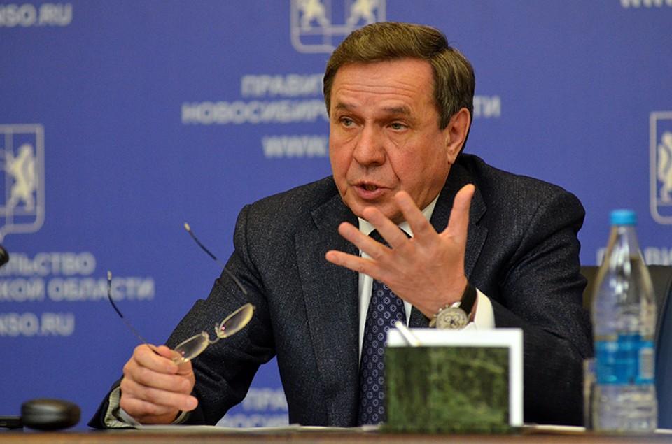 Исполняющего обязаности губернатора Новосибирской области представят наофициальной церемонии вначале рабочей недели