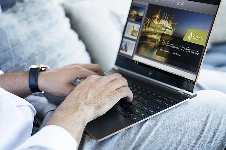 Улучшенный ультрабук Spectre 13 оборудовали процессором Intel 8-го поколения