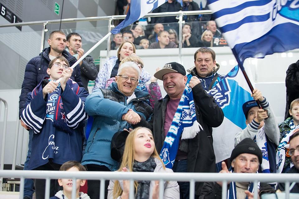«Адмирал» победил «Трактор» вматче чемпионата КХЛ