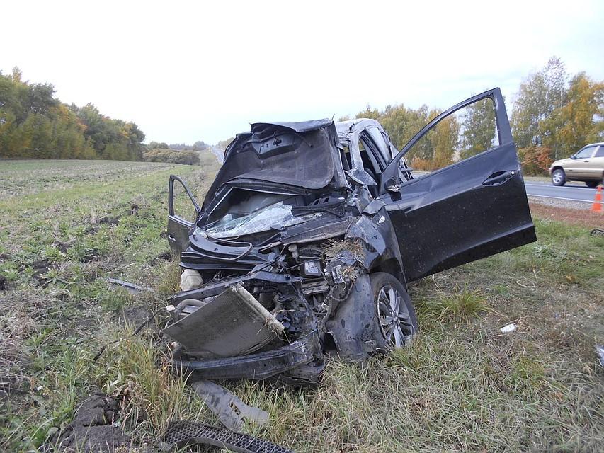 Под Тамбовом шофёр «Хендая» скончался в клинике после ДТП