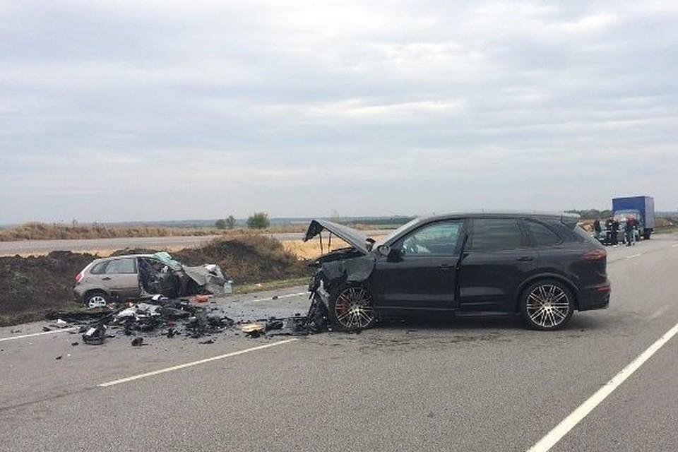 ВДТП вПавловском районе погибло два человека