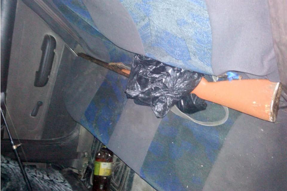 ВКрасноярском крае задержали нетрезвого водителя снезарегистрированным ружьем