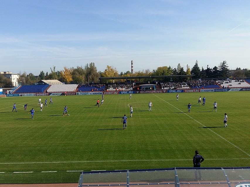 Волгоградский «Ротор» проиграл матч надомашнем поле