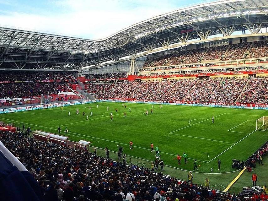 Болельщики Российской Федерации обыграли фанатов Ирана вфутбольном матче