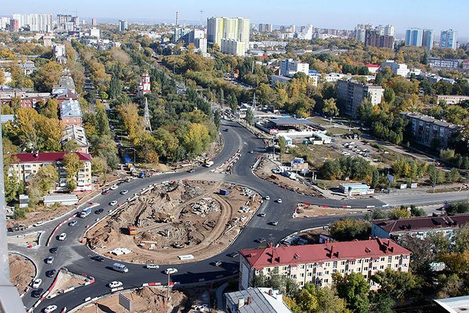 ВСамаре открыто движение напересечении улицы Луначарского иМосковского шоссе