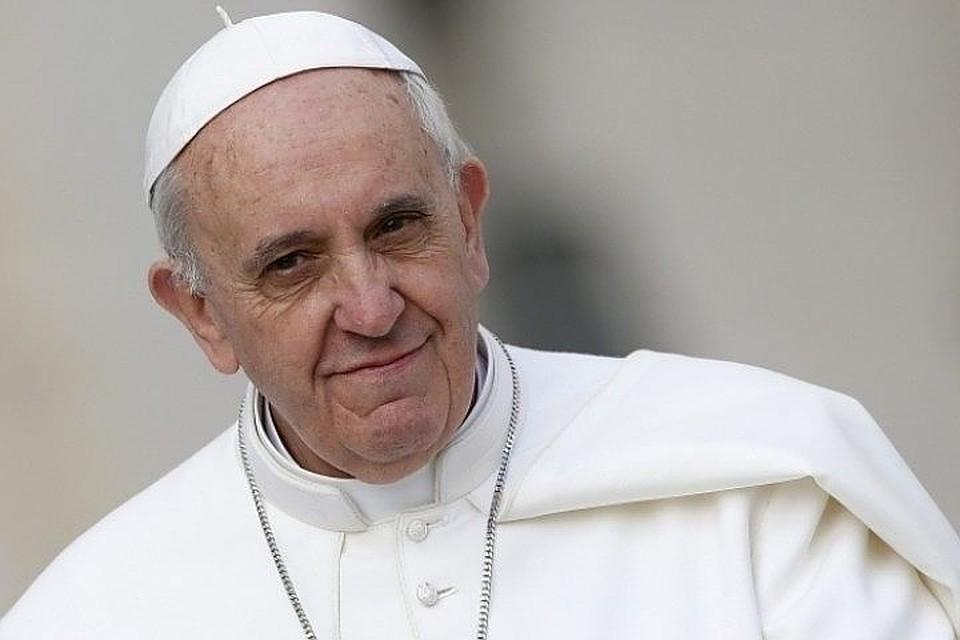 Папа римский считает, что законфликтом вУкраинском государстве стоит дьявол