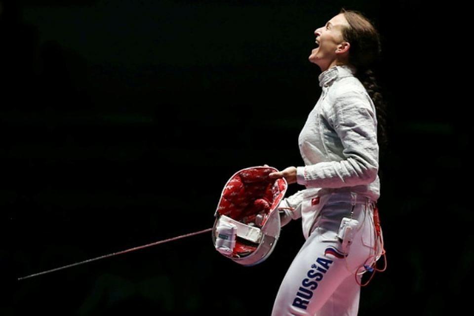 Софья Великая в миг победы на Олимпиаде – 2016 в Рио-де-Жанейро