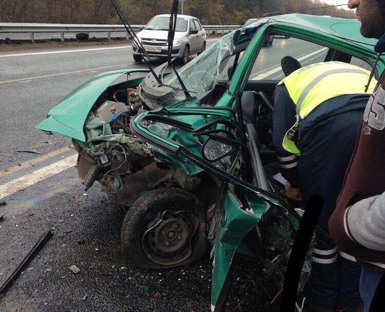 ВБашкирии вДТП погибла 74-летняя пассажирка