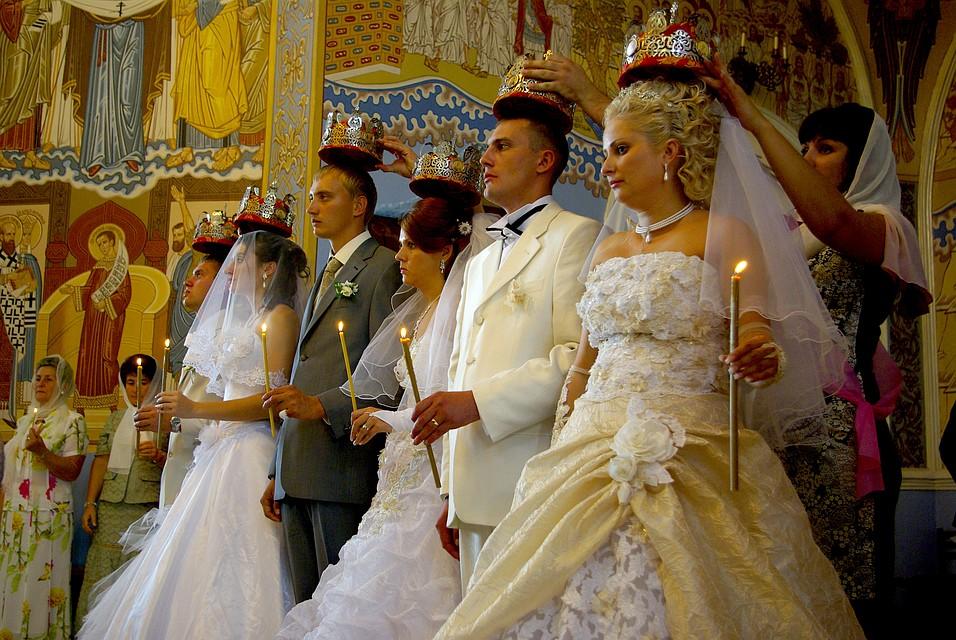 В государственной думе предлагают юридически признать венчание