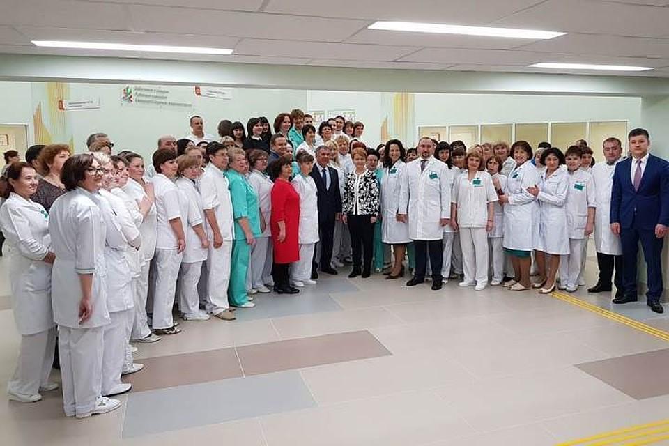 ВКазани открыли наибольшую  больницу  вгороде