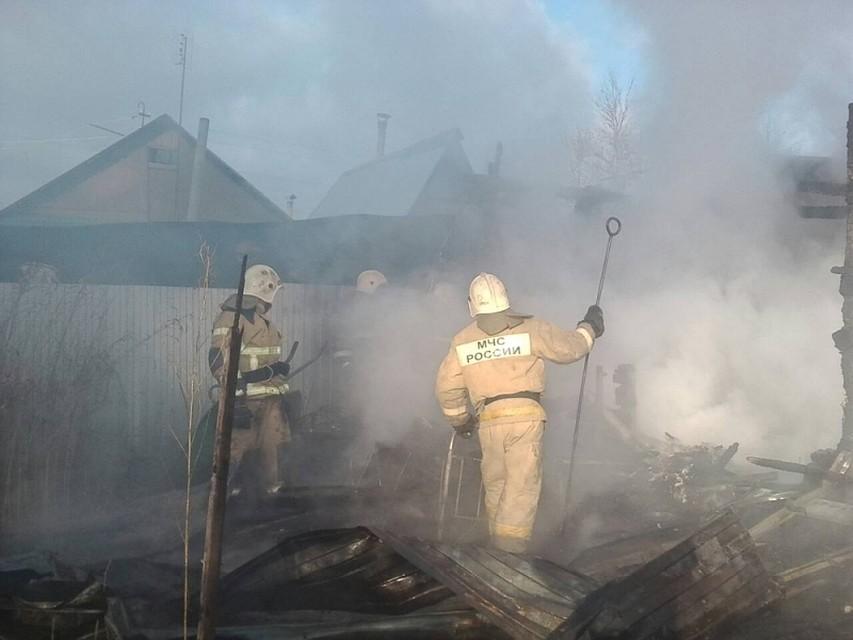 Пенсионер умер  напожаре вТуле