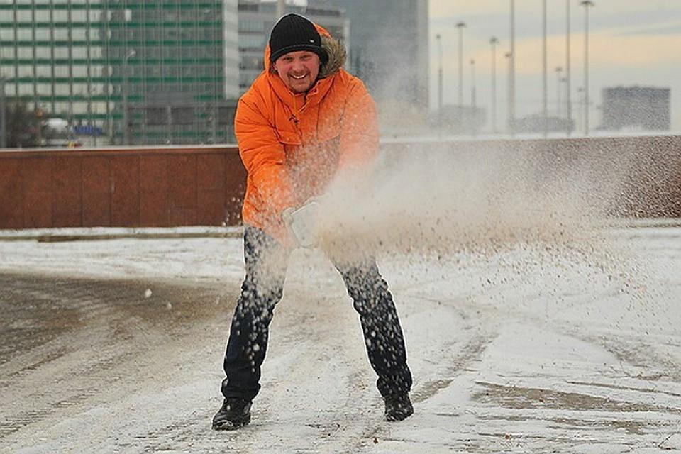 Дорожники будут использовать экологичный реагент для обработки улиц Казани