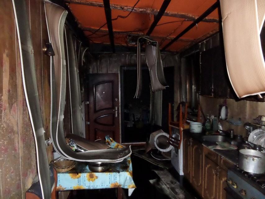 ВИжевске брат исестра погибли впожаре в личном доме