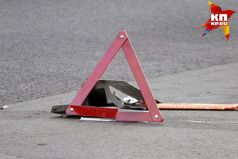 ВСтародубе при столкновении 2-х иномарок пассажирка сломала нос