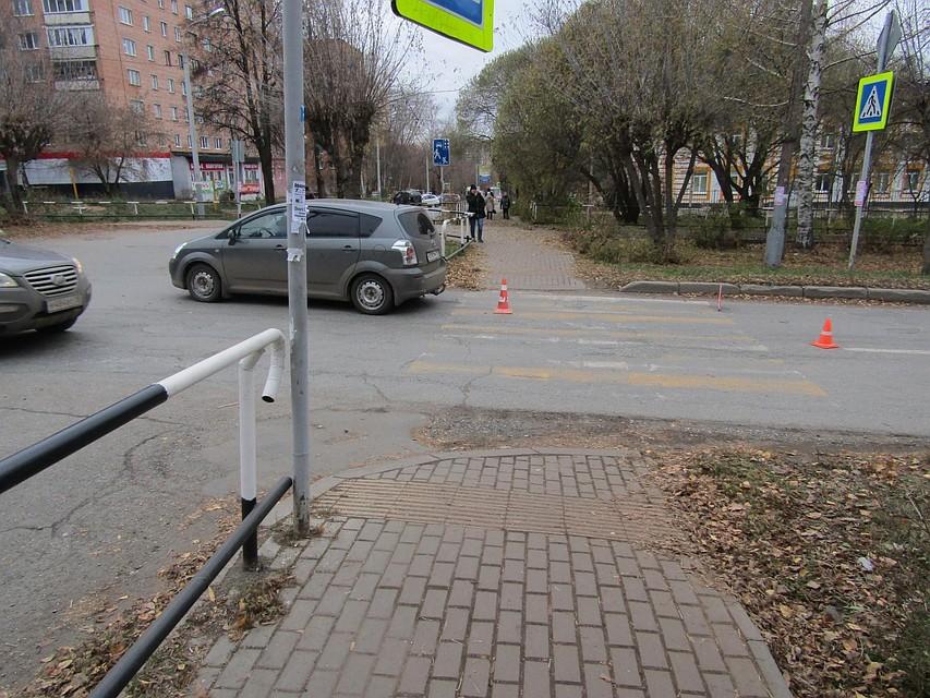 Пешеход-нарушитель умер после ДТП вКрасногорском
